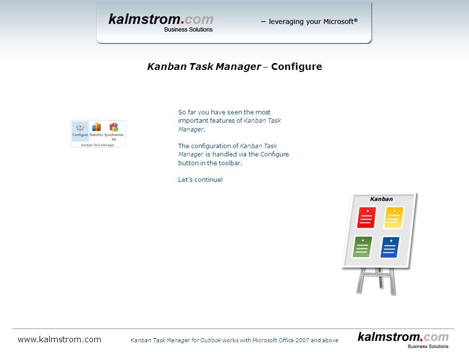 Kanban Task Manager ‒ Configure