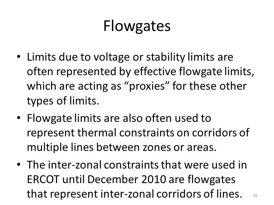 Flowgates
