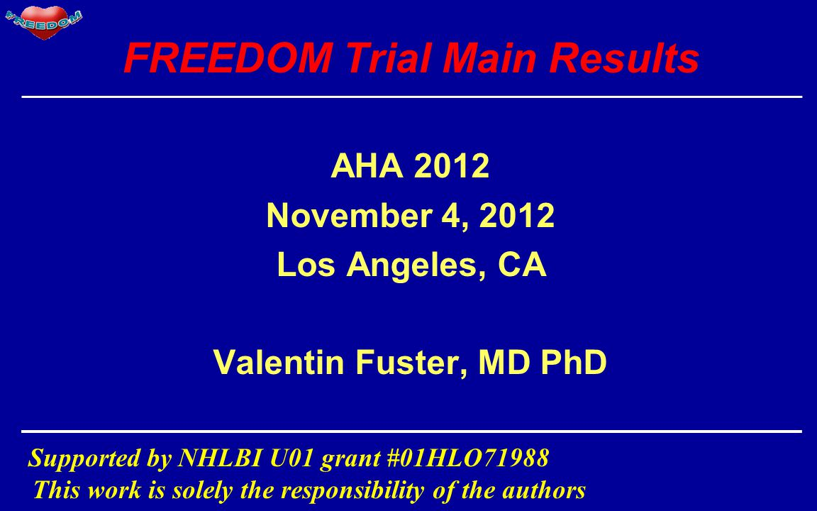 FREEDOM Trial Main Results