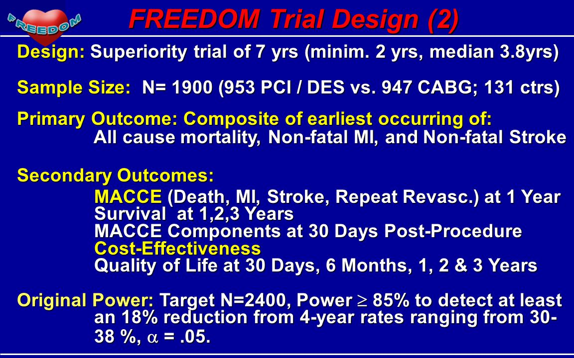 FREEDOM Trial Design (2)