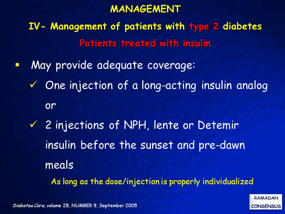 As long as the dose/injection is properly individualized