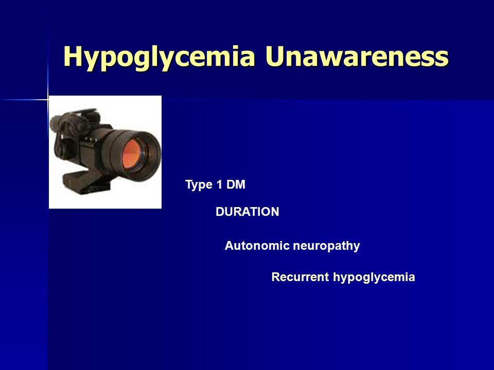 Hypoglycemia Unawareness