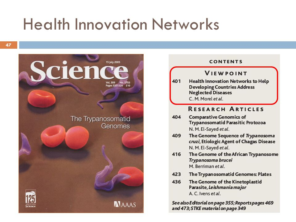 Health Innovation Networks