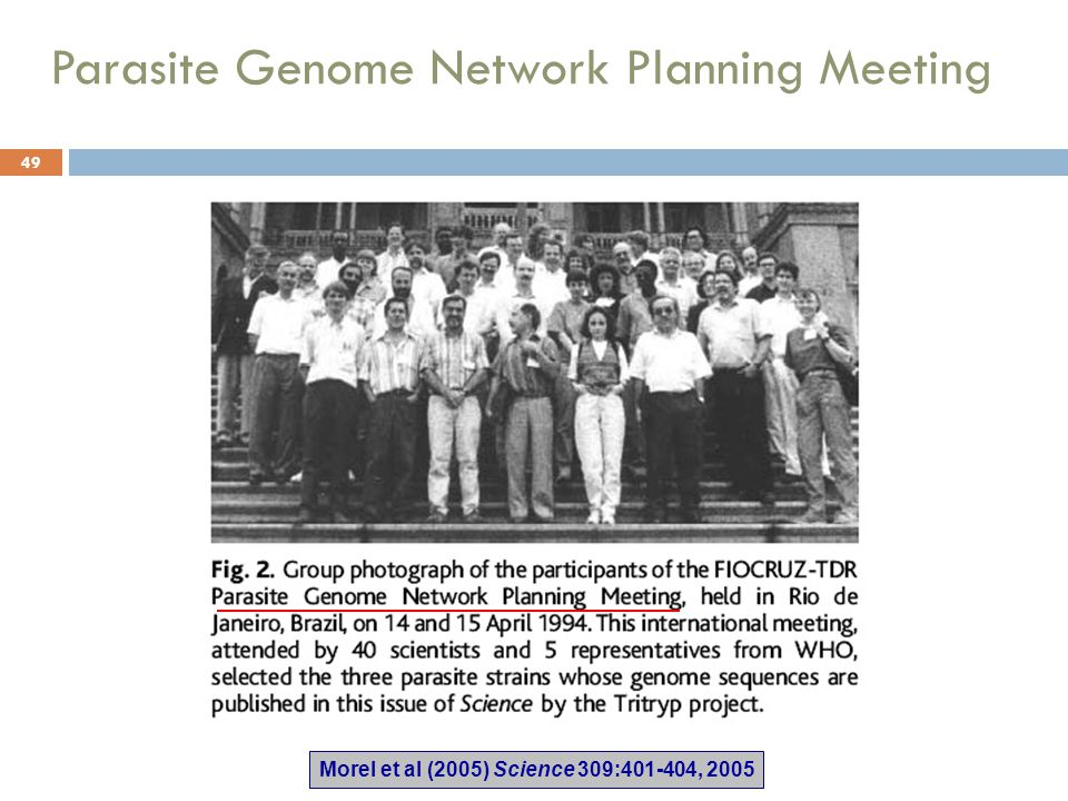 Parasite Genome Network Planning Meeting