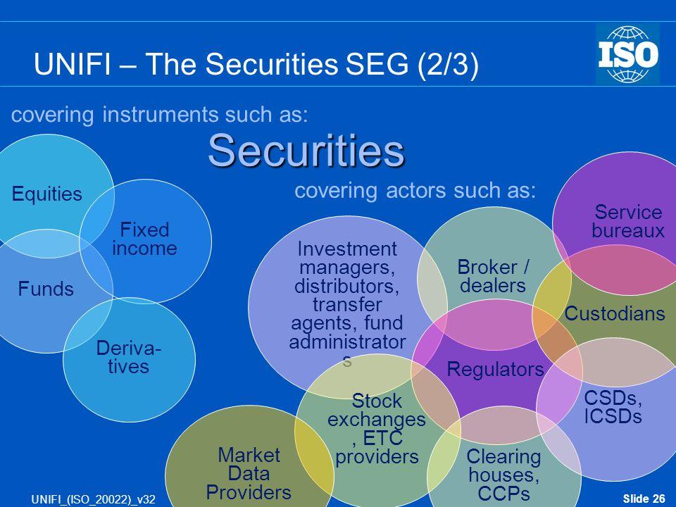 UNIFI – The Securities SEG (2/3)