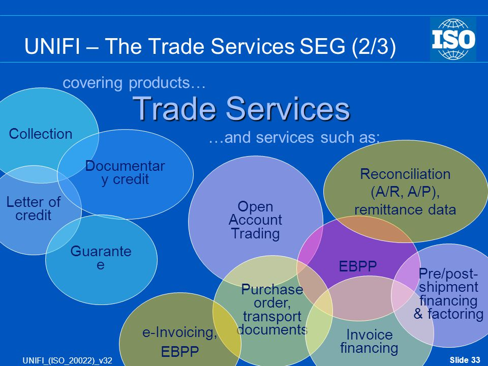 UNIFI – The Trade Services SEG (2/3)
