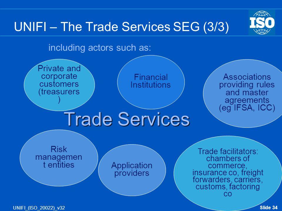 UNIFI – The Trade Services SEG (3/3)