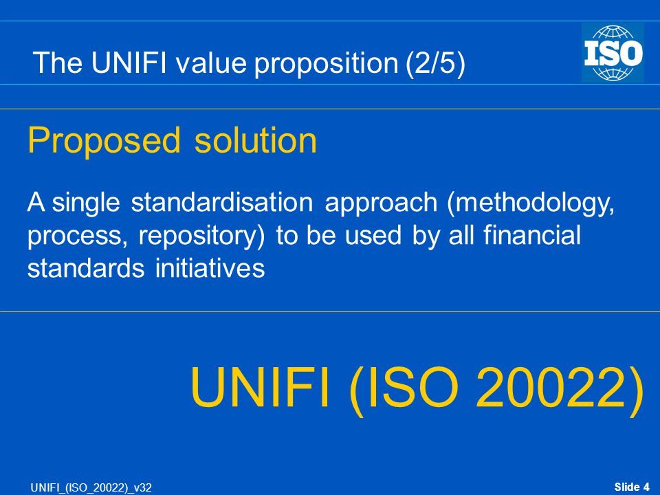 The UNIFI value proposition (2/5)