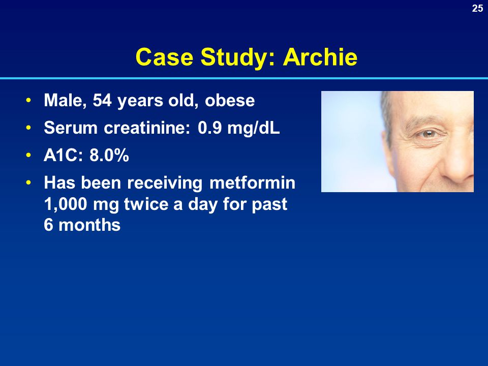 Case Study: Archie Male, 54 years old, obese