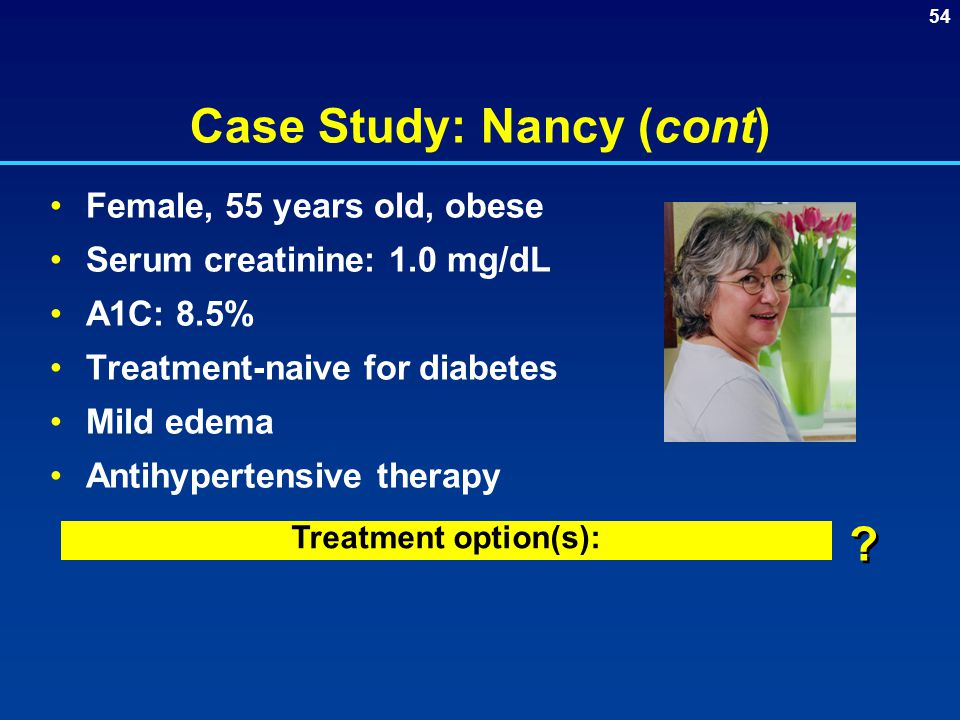 Case Study: Nancy (cont)