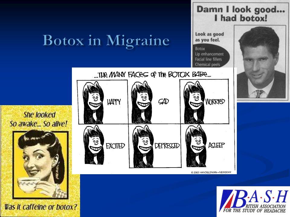 Botox in Migraine 29