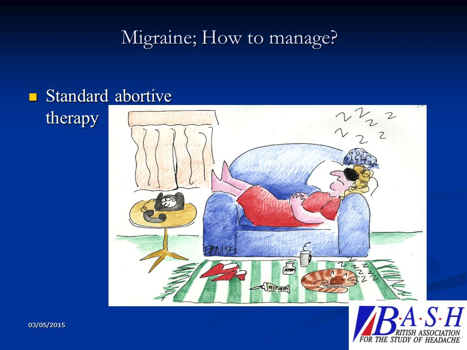 Migraine; How to manage