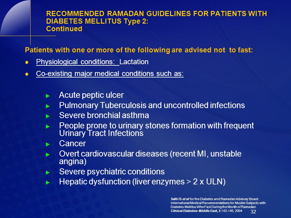 Pulmonary Tuberculosis and uncontrolled infections
