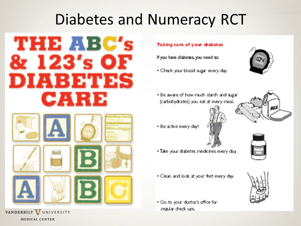 Diabetes and Numeracy RCT