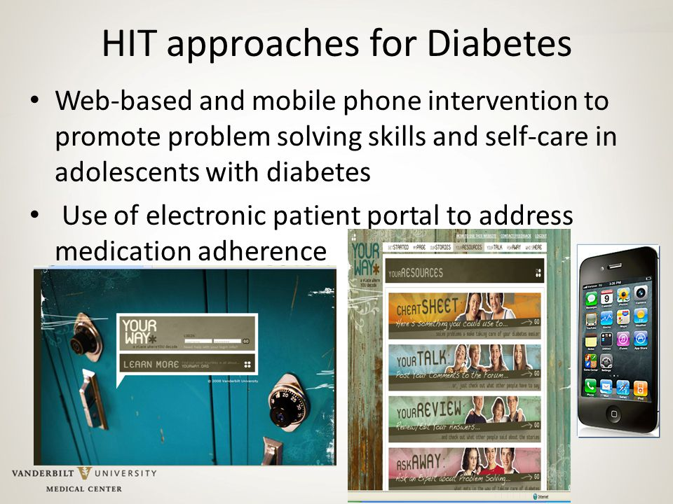 HIT approaches for Diabetes