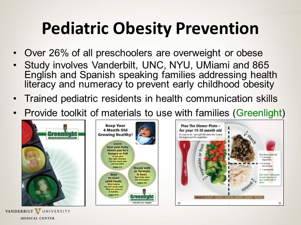 Pediatric Obesity Prevention
