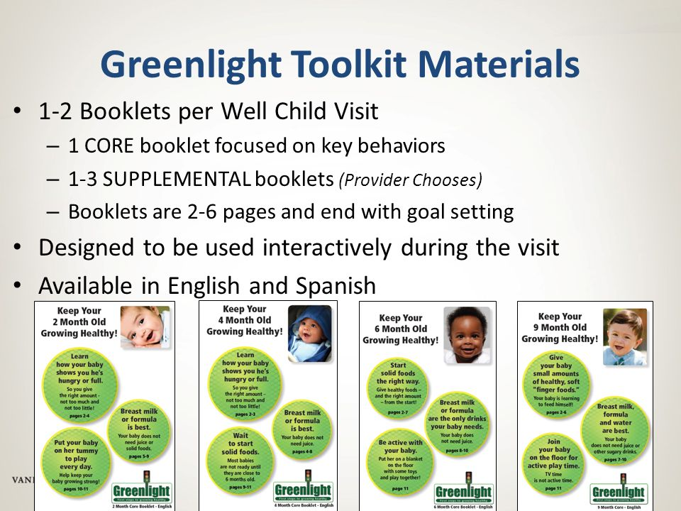 Greenlight Toolkit Materials