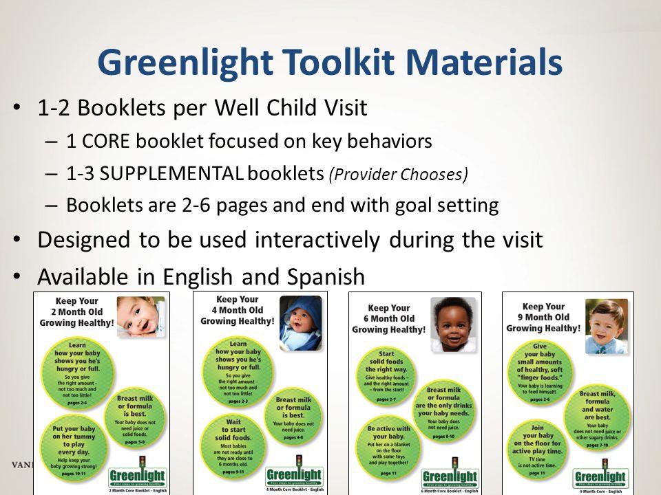 Greenlight Toolkit Materials