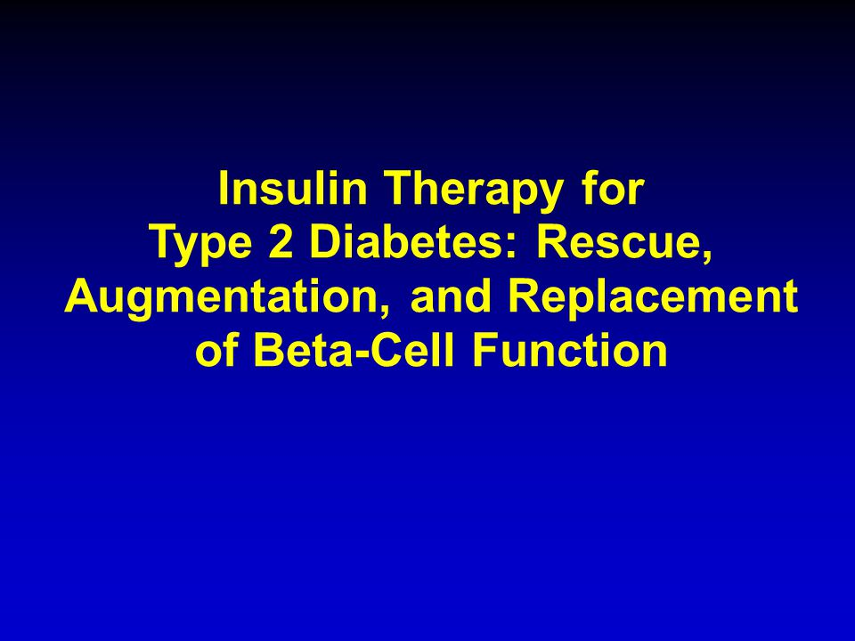 types of insulin therapy pdf