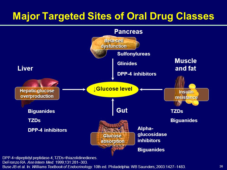 Major Targeted Sites of Oral Drug Classes