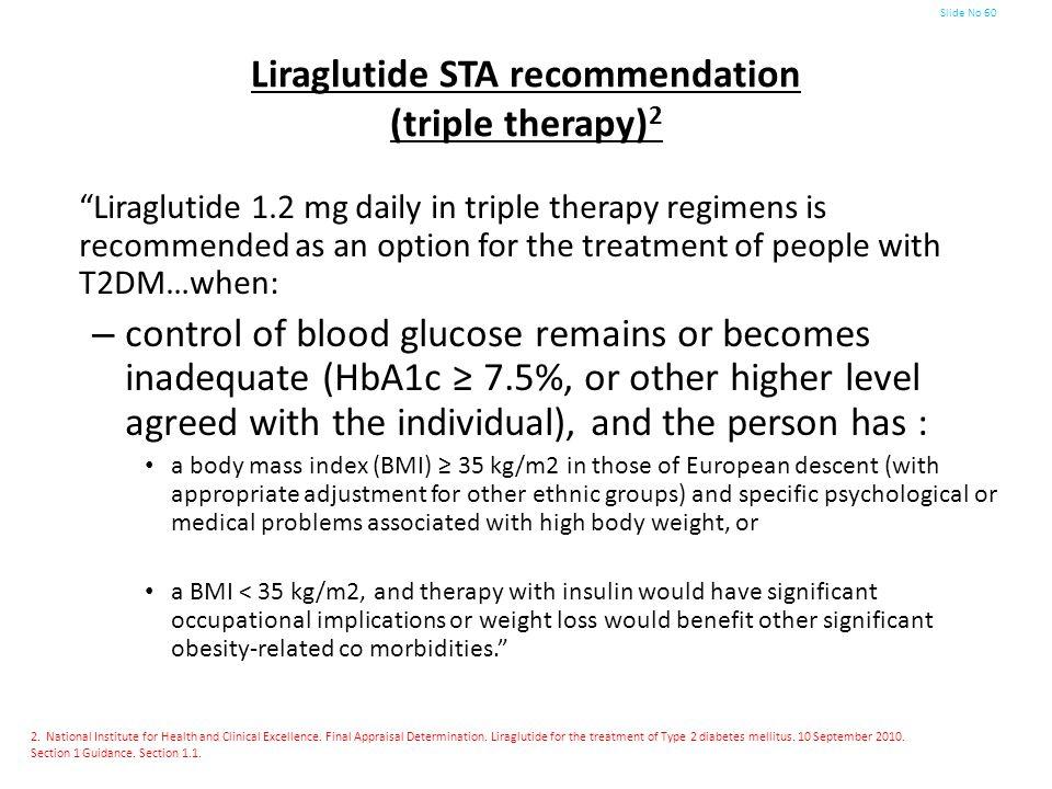 Liraglutide STA recommendation (triple therapy)2