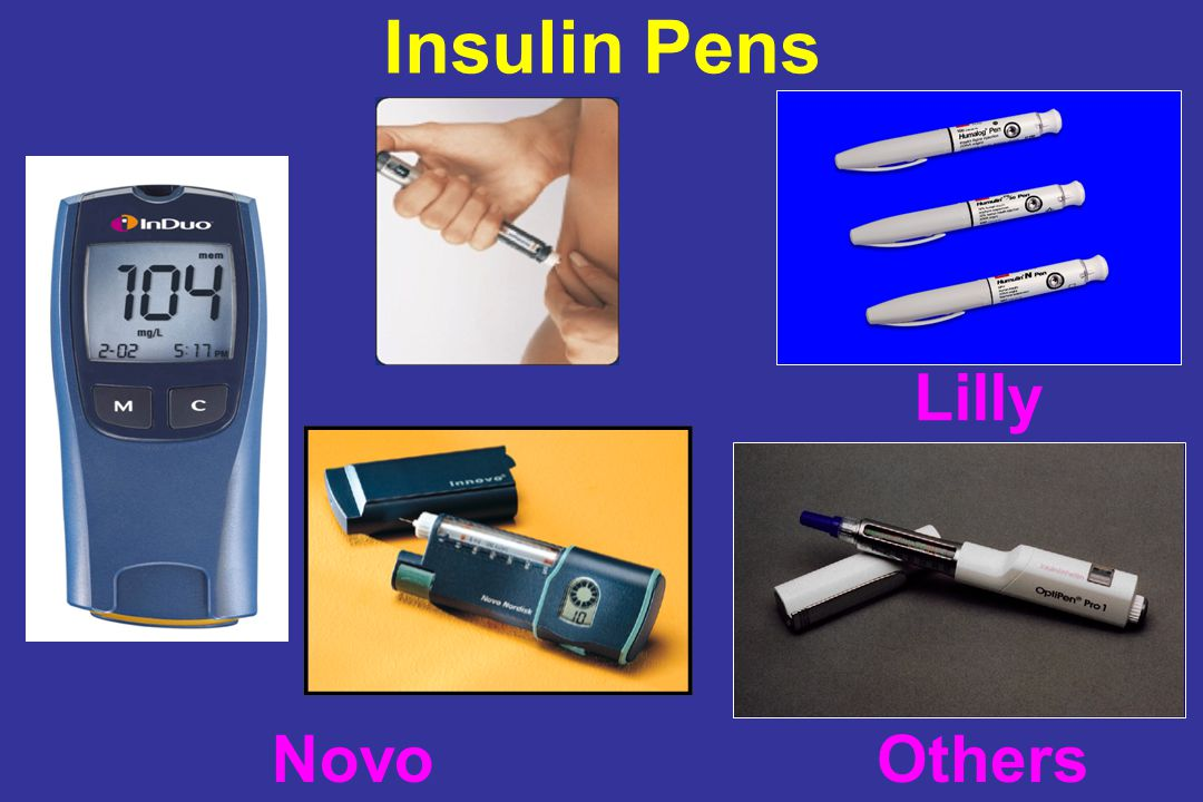 Insulin Pens Novo Lilly Others