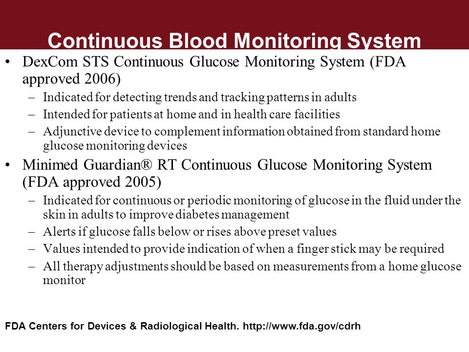 Continuous Blood Monitoring System