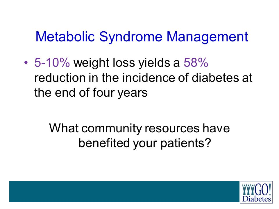 Metabolic Syndrome Management