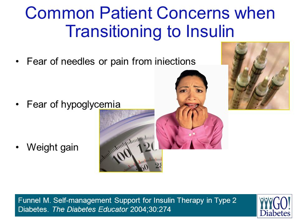 Common Patient Concerns when Transitioning to Insulin