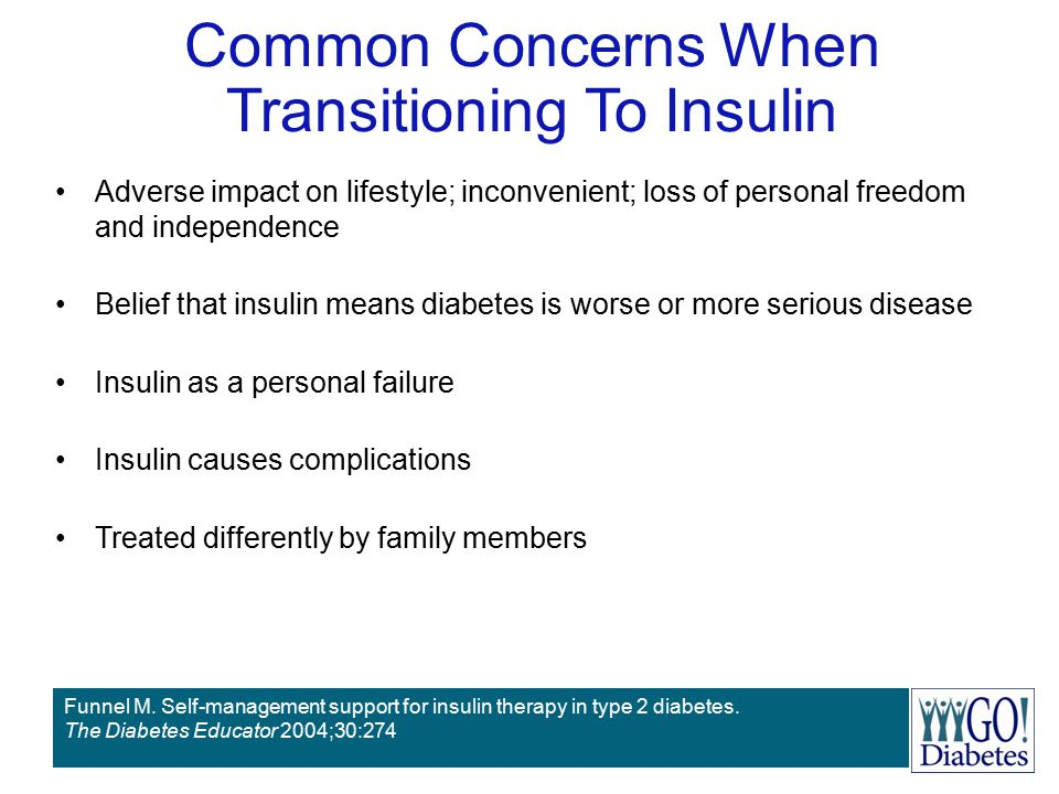 Common Concerns When Transitioning To Insulin