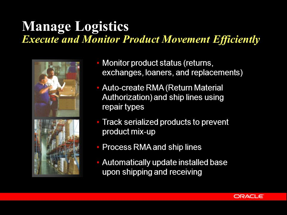 Manage Logistics Execute and Monitor Product Movement Efficiently