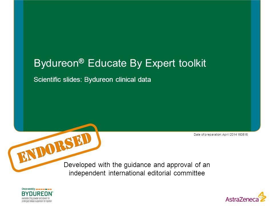 Bydureon® Educate By Expert toolkit
