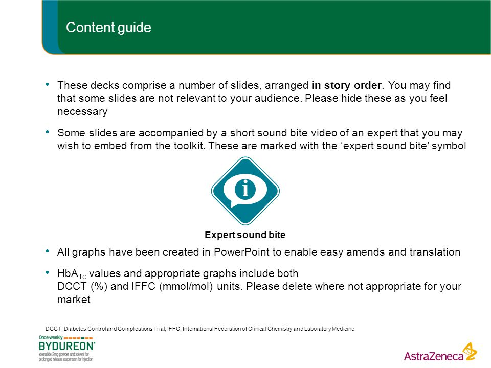 Content guide