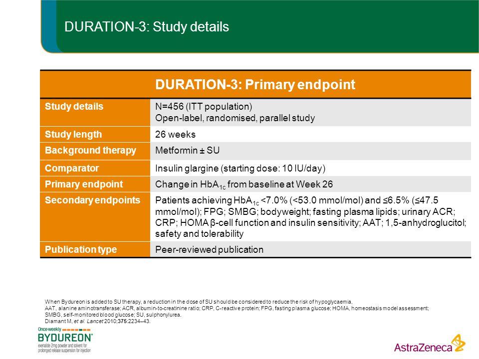 DURATION-3: Study details