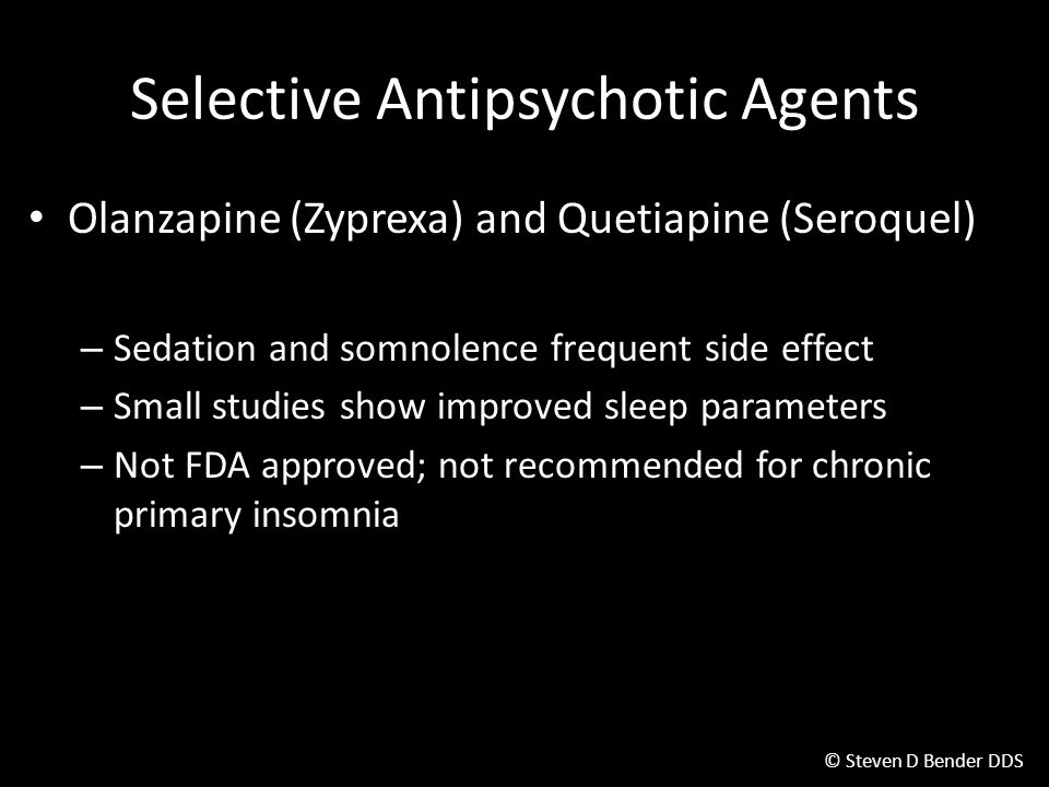 Selective Antipsychotic Agents