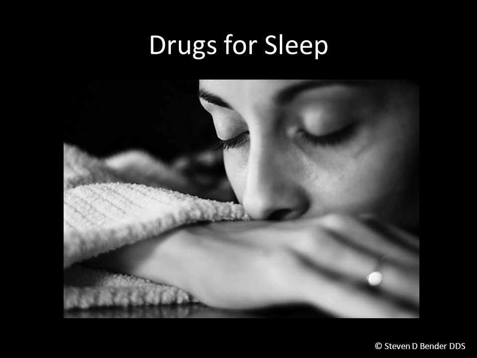 Drugs for Sleep