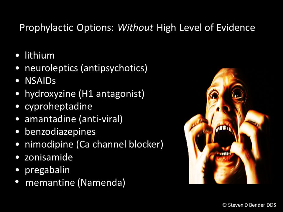 Prophylactic Options: Without High Level of Evidence