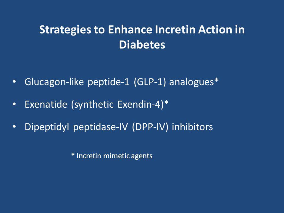Strategies to Enhance Incretin Action in Diabetes