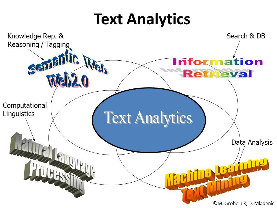 Text Analytics Semantic Web Web2.0 Information Retrieval