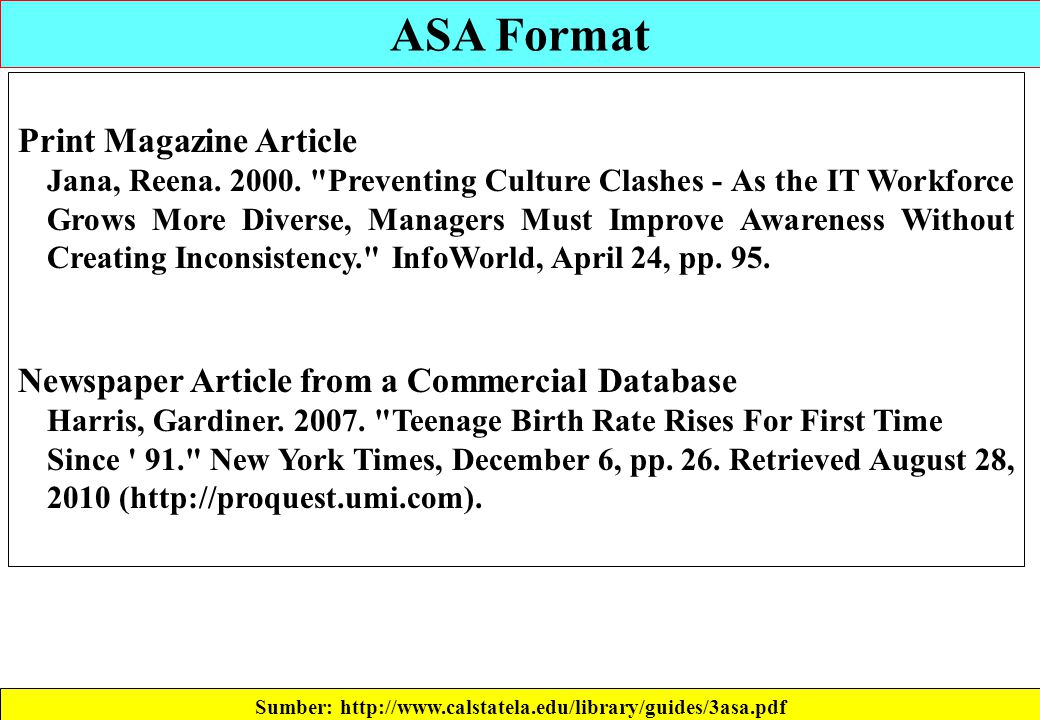 Sumber: http://www.calstatela.edu/library/guides/3asa.pdf