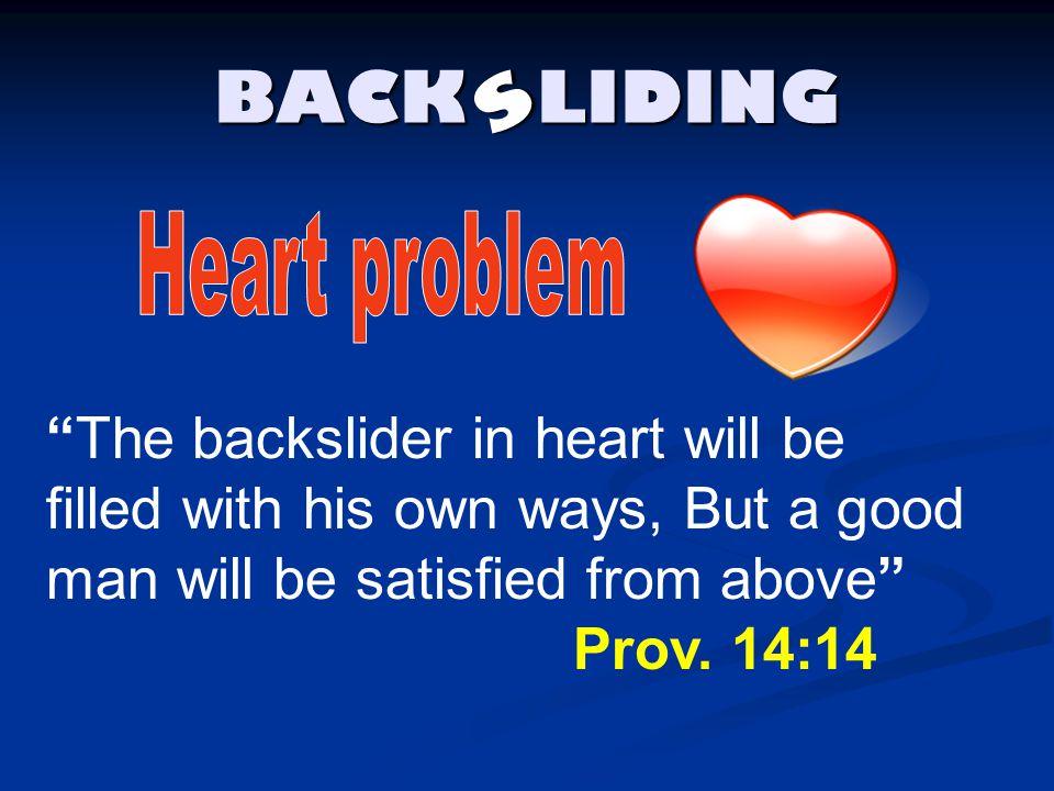 BACK LIDING s. Heart problem.