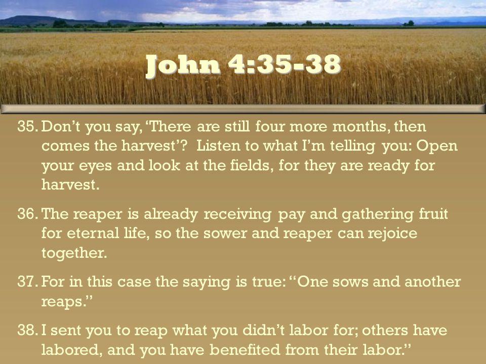 John 4:35-38