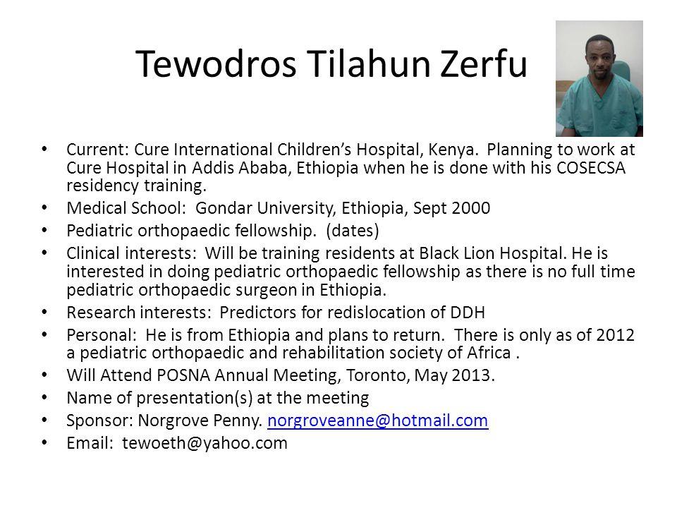 Tewodros Tilahun Zerfu