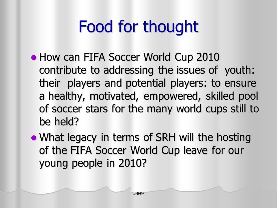 Food for thought