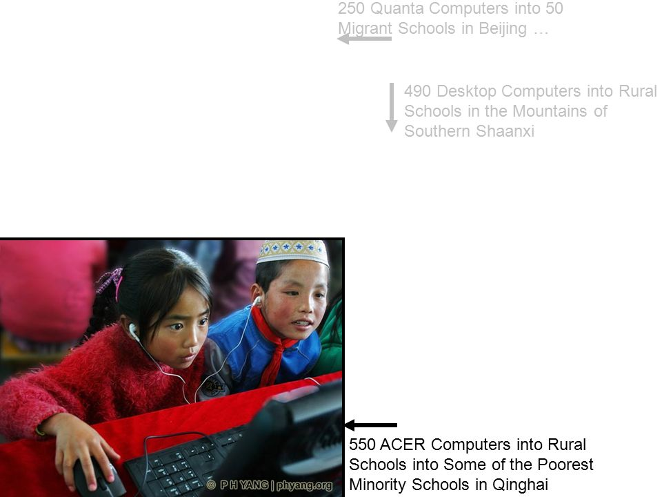 250 Quanta Computers into 50 Migrant Schools in Beijing …