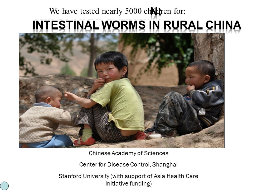 The Scourge Within: Intestinal Worms in Rural China