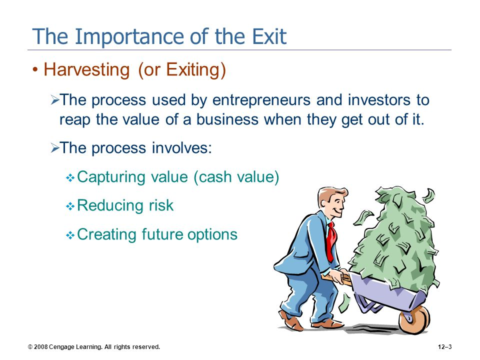 The Importance of the Exit