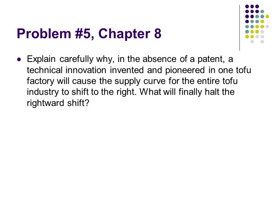 Problem #5, Chapter 8