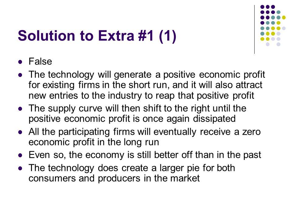 Solution to Extra #1 (1) False
