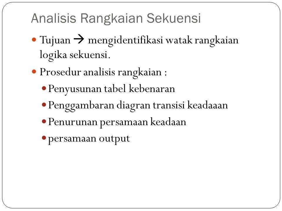 Analisis Rangkaian Sekuensi